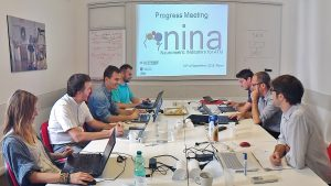 NINA project's last progress meeting explored adaptive interface and automation solutions for Air Traffic Management. NINA is exploring the use of brain waves and neurophysiological measures to assess air traffic controllers' mental state.